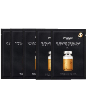 JM SOLUTION - Masque d'ampoule de collagène C9 - 5pcs