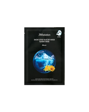 JM SOLUTION - Snow Lotus Glacier Water Alaska Mask Snow - 1pc