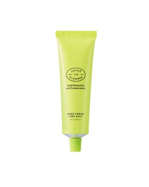 JUICE TO CLEANSE -  Handcreme Limette Hälfte - 50ml