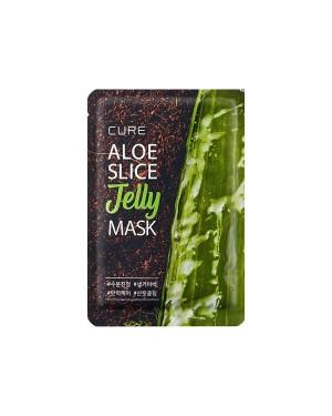 Kimjeongmoon-Aloe - Aloe Cure Masque Gelée Aloe Slice - 1pc