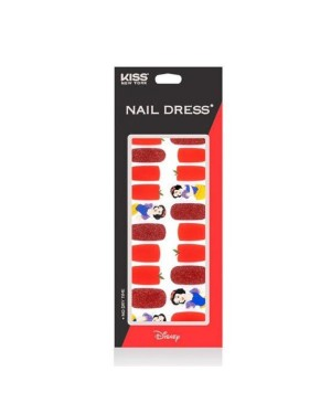 Kiss New York - Nail Dress (Disney Edition) Snow White - 24pcs