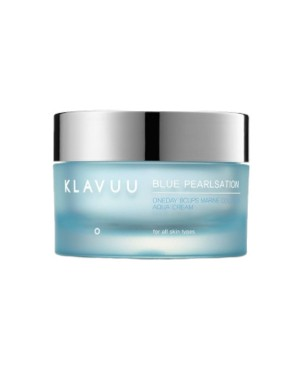 KLAVUU - Blue Pearlsation One day 8 tasses Marine Collagen Aqua Cream - 50ml