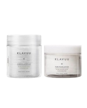 KLAVUU - Pure Pearlsation Tampon nettoyant rapide pH Balancing