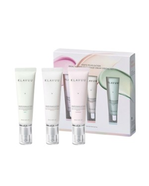 KLAVUU - White Pearlsation Ideal Actress Backstage Cream  SPF30 PA++ Special Set - 3pcs
