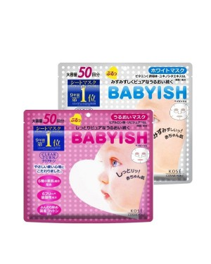 Kose - Clear Turn Babyish Mask