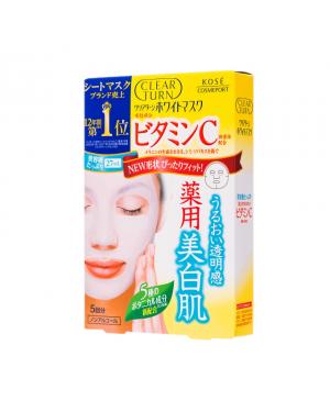 Kose - Clear Turn White Vitamin C Mask