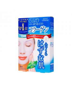 Kose - Clear Turn Whitening Collagen Mask