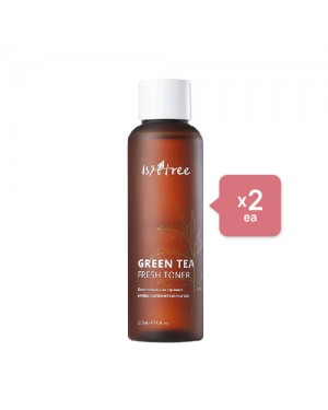 Isntree Green Tea Fresh Toner (2ea) Set - Dodger blue