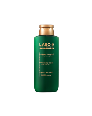 LABO-H - Shampooing Anti-Chute de Cheveux Green Probiotics - Anti-âge + Volume - 180ml