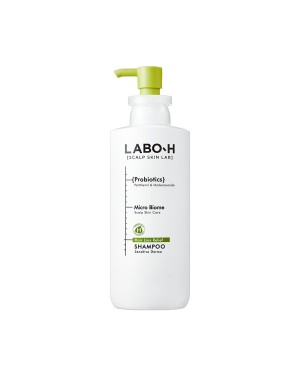 LABO-H - Hair Loss Relief Shampoo - Sensitive Derma - 400ml