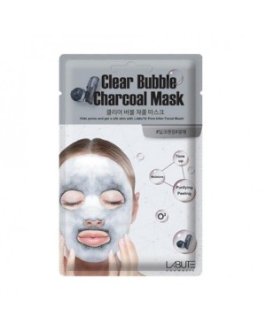 LABUTE - Clear Bubble Charcoal Mask - 1pc