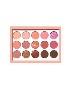 MACQUEEN - 1001 Tone-On-Tone Shadow Palette_Coral Edition - 0.5G*15