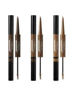 MACQUEEN - My Colouring Dual Eyebrow Pencil & Browcara - 2g