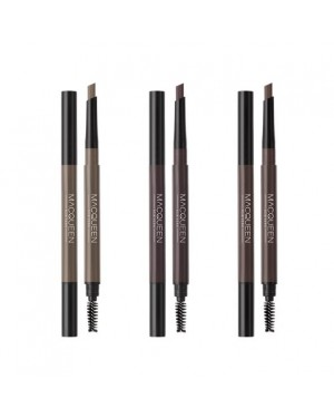 MACQUEEN - My Strong Auto Eyebrow Pencil Hard Powder - 0.35g