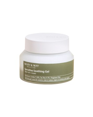 MARY & MAY - Sensitive Soothing Gel Blemish Cream - 70g