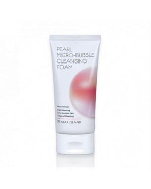 MAY ISLAND - Pearl Micro Bubble Cleansing Foam
