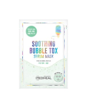 Mediheal - Masque Sérum Apaisant Bubble Tox - 1pc