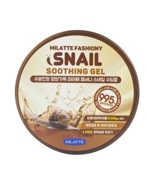 MILATTE - Fashiony Soothing Gel - Snail - 300ml