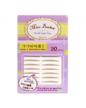 Miss Bow Bow - Double Eyelid Tape #4 - 20pcs