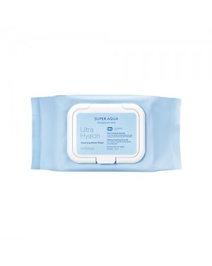 MISSHA - Super Aqua Ultra Hyalron Cleansing Water Wipes - 1pack (30pcs)