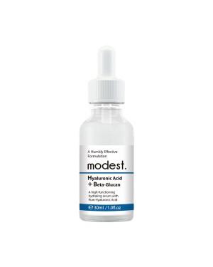 modest. - Sérum Acide Hyaluronique + Bêta-Glucane - 30ml