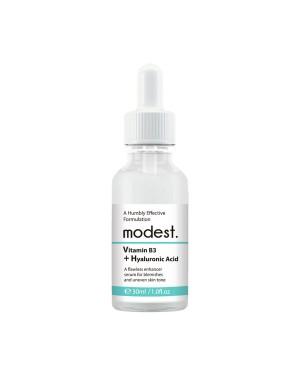 modest. - Sérum à la vitamine B3 + acide hyaluronique - 30ml