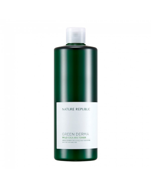 NATURE REPUBLIC - Green Derma Mild Cica Big Toner - 500ml