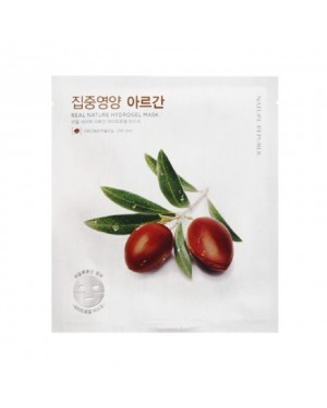 NATURE REPUBLIC - Real Nature Hydrogel Mask - Argan