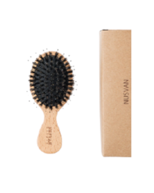 NUSVAN - Boar Bristle Hair Brush - 1pc