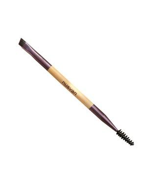 NUSVAN - Brosse à sourcils de maquillage à double extrémité - 1pc
