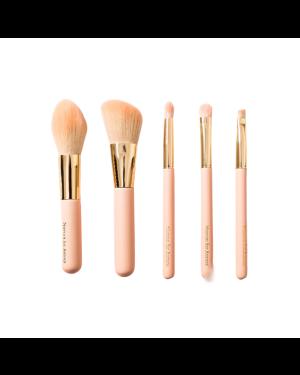 NUSVAN - Ensemble de pinceaux de maquillage - Rose - 5pcs
