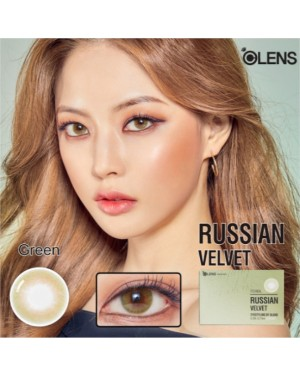 Olens - Russian Velvet 1 Month - Green - 2pcs