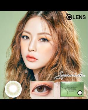 Olens - Spanish 1 Month - Real Olive - 2pcs