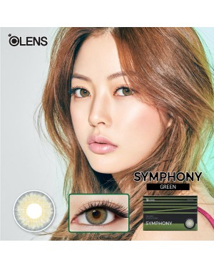 Olens - Symphony 1 Month - Green - 2pcs