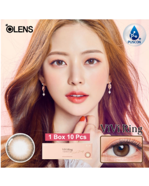 Olens - Viviring 1 Day - Brown - 10pcs