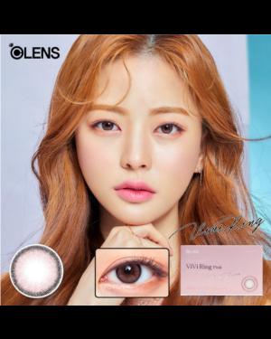 Olens - Viviring 1 Month - Pink - 2pcs