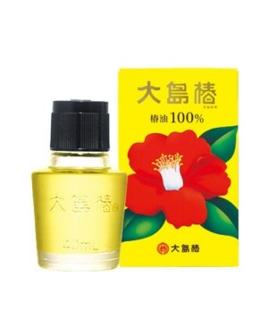 OSHIMA TSUBAKI - 100% Camellia Oil - 40ml