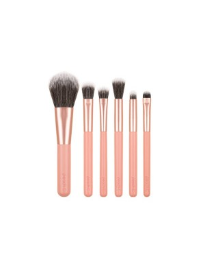 Peach C - Daily Mini Makeup Brush - 6pcs