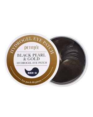 PETITFEE - Black Pearl & Gold Hydrogel Eye Patch - 60pcs