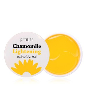 PETITFEE - Chamomile Lightening Hydrogel Eye Mask - 60pcs