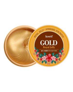 PETITFEE - koelf Patch pour les yeux Gold & Royal Jelly - 60pcs