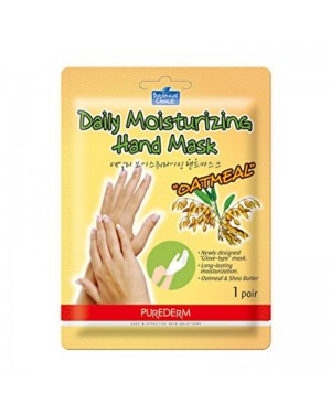 PUREDERM - Daily Moisturizing Hand Mask - Oatmeal - 1pair