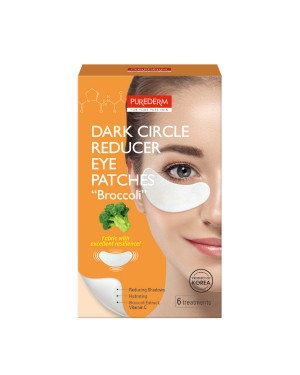 "PUREDERM - Patchs yeux anti-cernes ""BROCCOLI"" - 6 treatments"