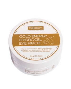 PUREDERM - Gold Energy Hydrogel Eye Patch - 60 patches
