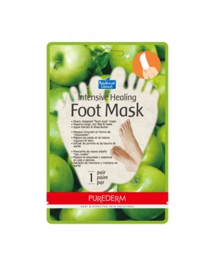 PUREDERM - Intensive Healing Foot Mask - Apple - 1pair