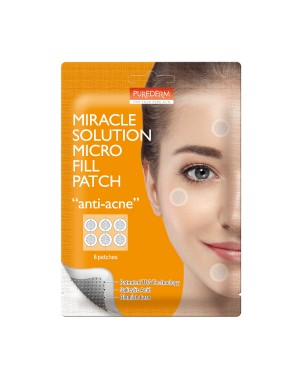 PUREDERM - Miracle Solution Micro Fill patch - Anti-acne - 6 patches