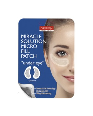 PUREDERM - Miracle Solution Micro Fill patch - Under Eye - 2 patches