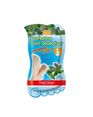 "PUREDERM - Refreshing Foot Deodorizer "" Peppermint"" - 25g"