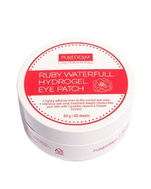 PUREDERM - Ruby Waterfull Hydrogel Eye Patch - 60 patches