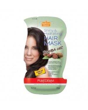 PUREDERM - Shiny & Hydrating Hair Mask - Jojoba Oil - 20g